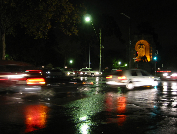 Gawler Place intersection