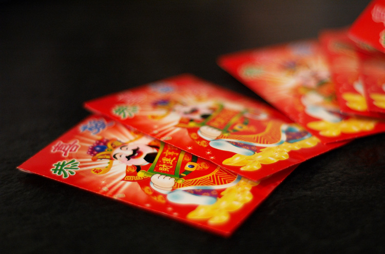 Red Ang Pow packets for Chinese New Year